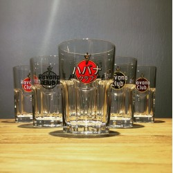 Set of 6 glasses Havana...