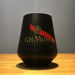 Glas Mumm tumbler zwart
