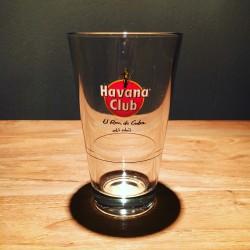 Glass Havana Club conical...