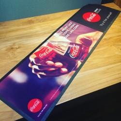 Tapis de bar Coca-Cola zéro