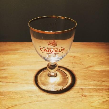 Verre bière Gouden Carolus galopin