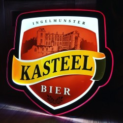 Lichtreclame Kasteelbier LED