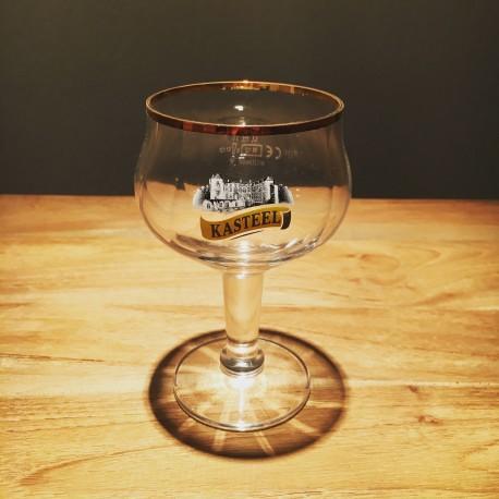 Verre bière Kasteelbier Bière château galopin new