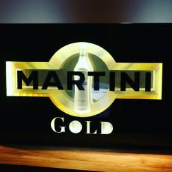 Enseigne lumineuse Martini...