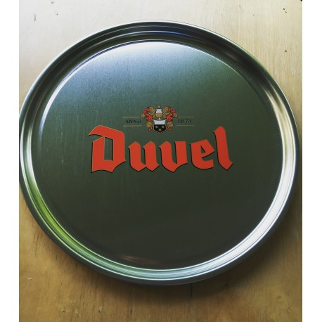 Metalen Plaat Duvel