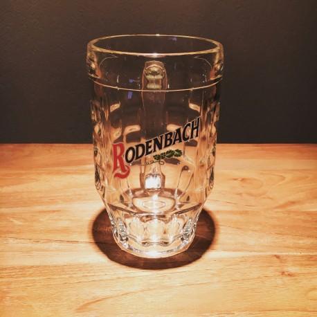 Glas bier mok Rodenbach