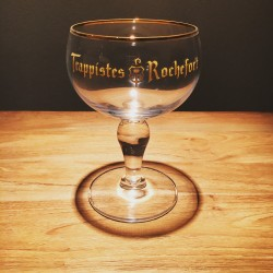 Glass beer Trappistes Rochefort