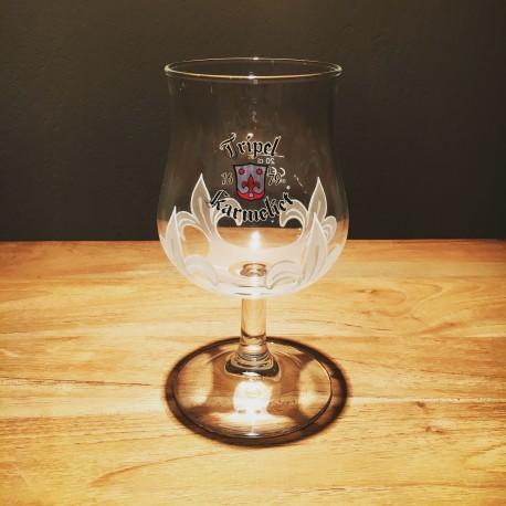 Verre bière Triple Karmeliet galopin