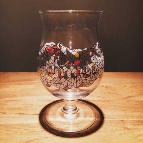 Verre bière Duvel 5 Philippe Debongnie