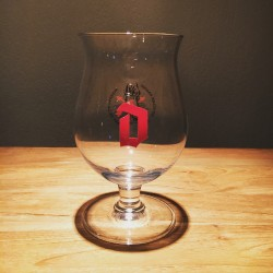 Glass beer Duvel 2016 l'art de la passion