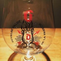 Verre bière Duvel 2016 l'art de la passion