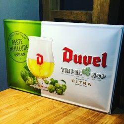 Wall plate Duvel Triple Hop...