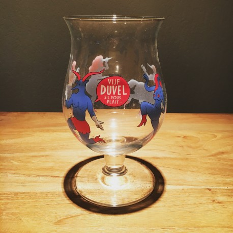 Verre bière Duvel collection 2 Parra