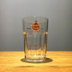 Glass Havana Club mojito...