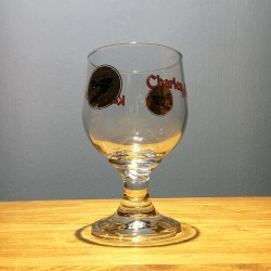Glass beer Charlequint red