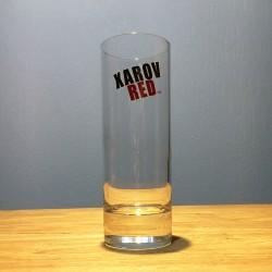 Glass Xarov Red long drink...