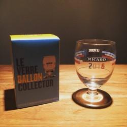 Glas Ricard collector Euro 2016