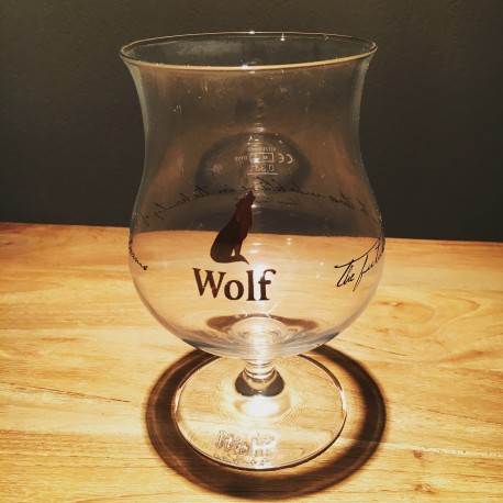 Glass beer Wolf big