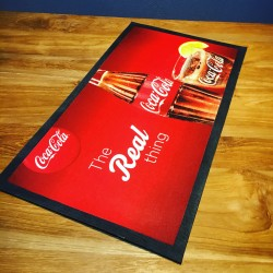 Bar runner Coca-Cola