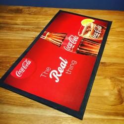 Tapis de bar Coca-Cola