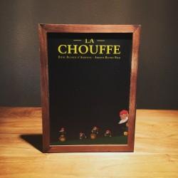 Little slate chalkboard Chouffe