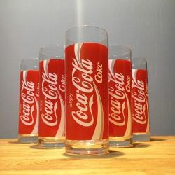 Verre Coca-Cola long drink...