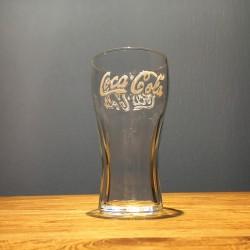 Glass Coca-Cola 25cl logo...