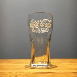 Glas Coca-Cola 33cl logo wit