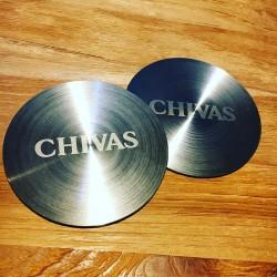 Sous-verre Chivas Regal...