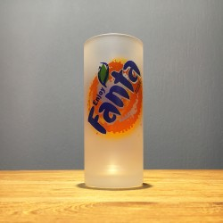 Frosted Glass Fanta highball