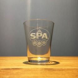 Verre eau Spa modèle 1
