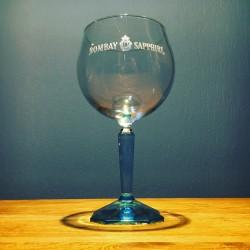 Glass Bombay Sapphire...