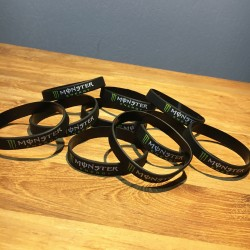 Bracelet silicone Monster x10