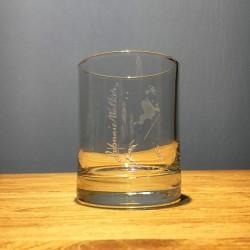 Glas Johnnie Walker on the...