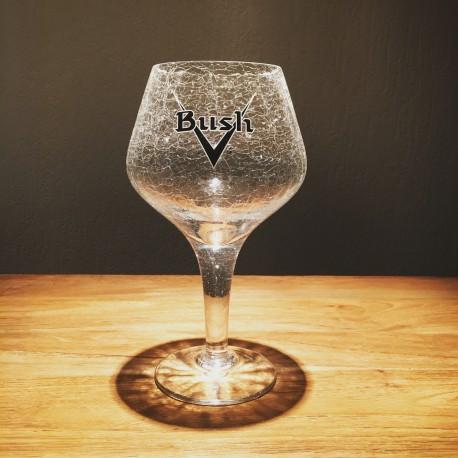 Glass Beer Bush Model Cracked