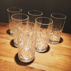 Glass Whiskey Dewars long drink