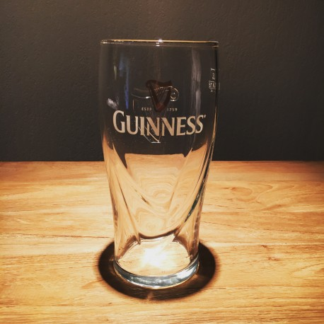 Glas Bier Guinness Pint 50cl