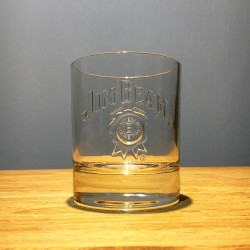 Glass Jim Beam tumbler model 3