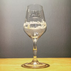 Glass beer Triple d'Anvers...
