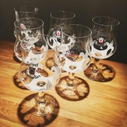 Glass Beer Karmeliet
