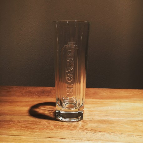 Verre Ricard long drink base carrée