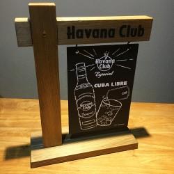 Slate chalkboard Havana...