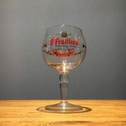 Verre bière Saint Feuillien...