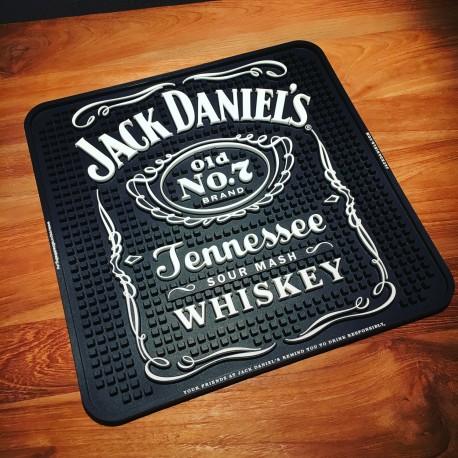 Tapis de bar Jack Daniel's carré
