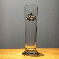 Glass beer Mort-Subite