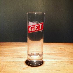 Glass Get27 long drink 22cl logo two sided