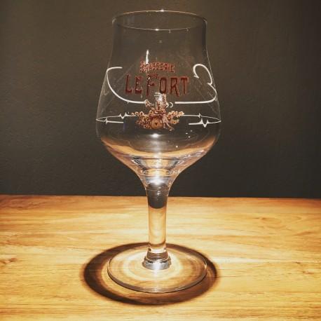Glas Bier Lefort