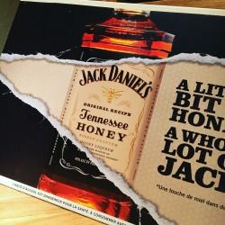 Metalen Plaat Jack Daniel's Honey