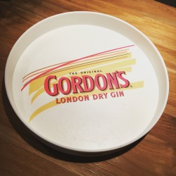 Tray Gordon's London Dry Gin PVC