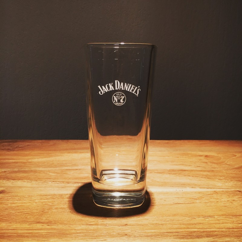 verre jack long drink logo blanc. Black Bedroom Furniture Sets. Home Design Ideas